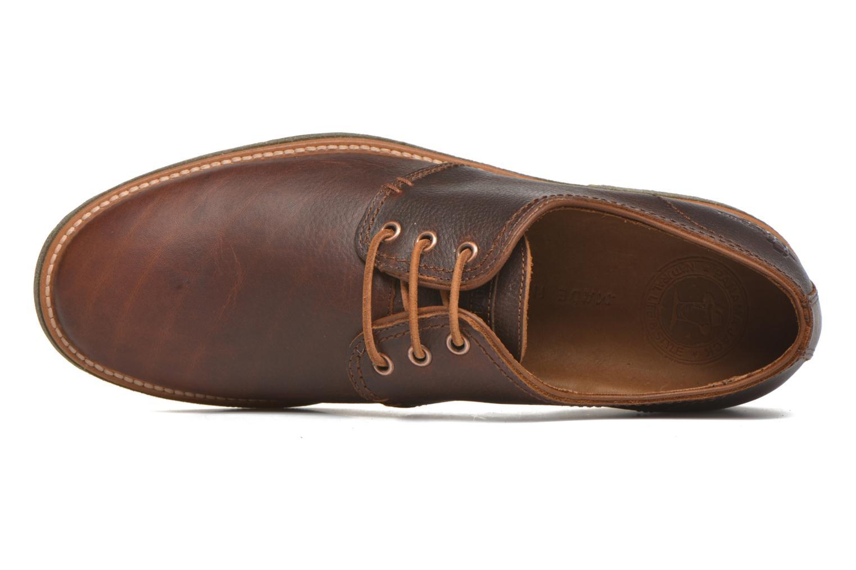 Chaussures à lacets Panama Jack Goodman Marron vue gauche