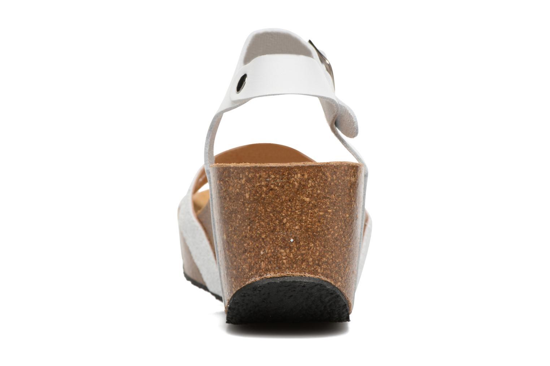 Sandales et nu-pieds Plakton So fine Blanc vue droite