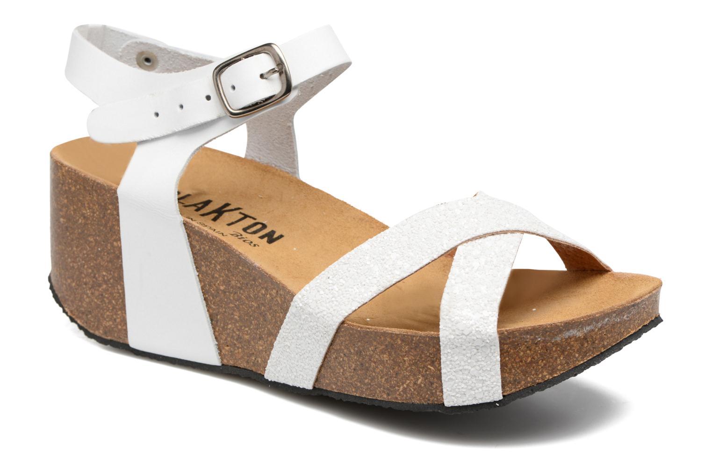 Sandales et nu-pieds Plakton So fine Blanc vue détail/paire