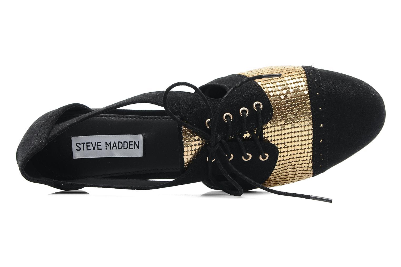 Schnürschuhe Steve Madden CORI-C schwarz ansicht von links