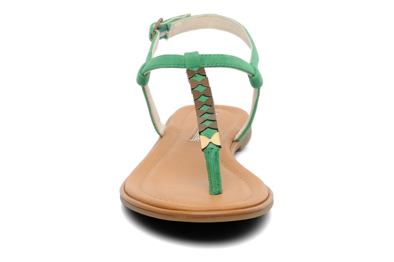 Sandales et nu-pieds Buffalo Bawa Vert vue portées chaussures