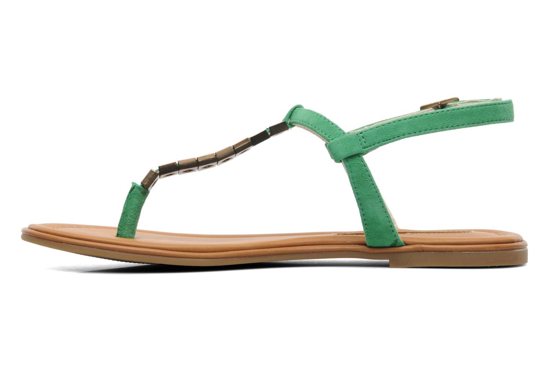 Sandales et nu-pieds Buffalo Bawa Vert vue face