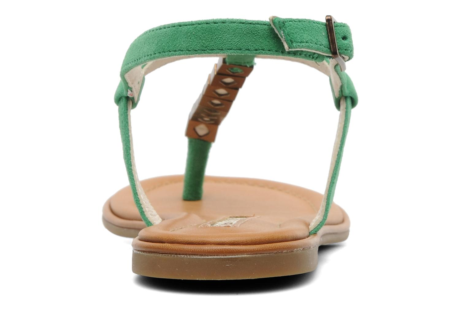 Bawa Kid Suede Green
