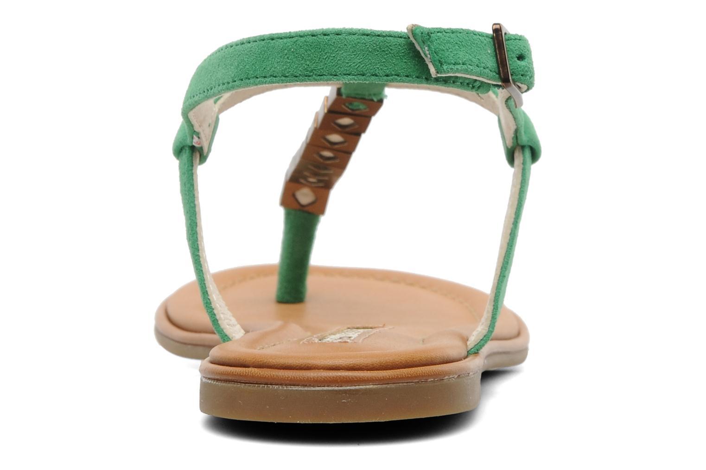 Sandales et nu-pieds Buffalo Bawa Vert vue droite