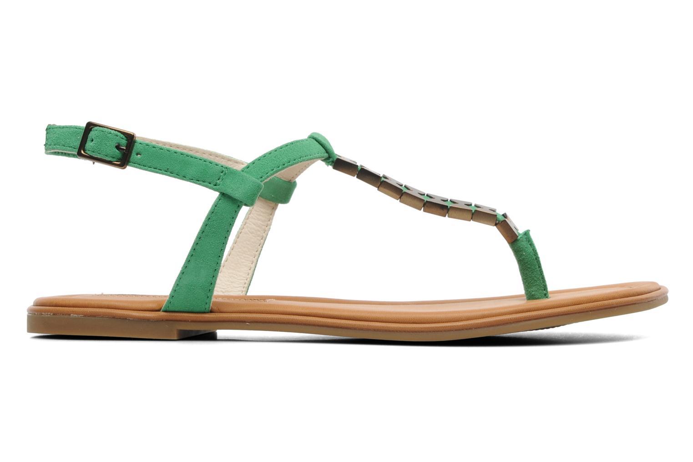 Sandales et nu-pieds Buffalo Bawa Vert vue derrière