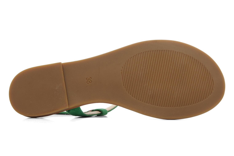 Sandales et nu-pieds Buffalo Bawa Vert vue haut