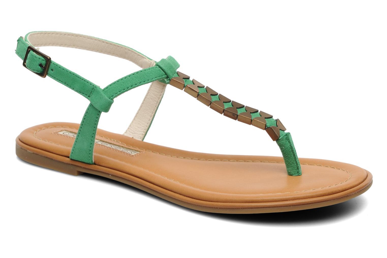 Sandales et nu-pieds Buffalo Bawa Vert vue détail/paire