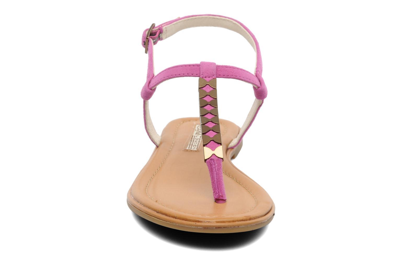 Sandales et nu-pieds Buffalo Bawa Rose vue portées chaussures
