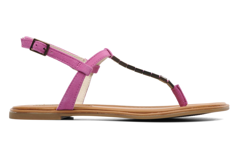 Sandales et nu-pieds Buffalo Bawa Rose vue derrière