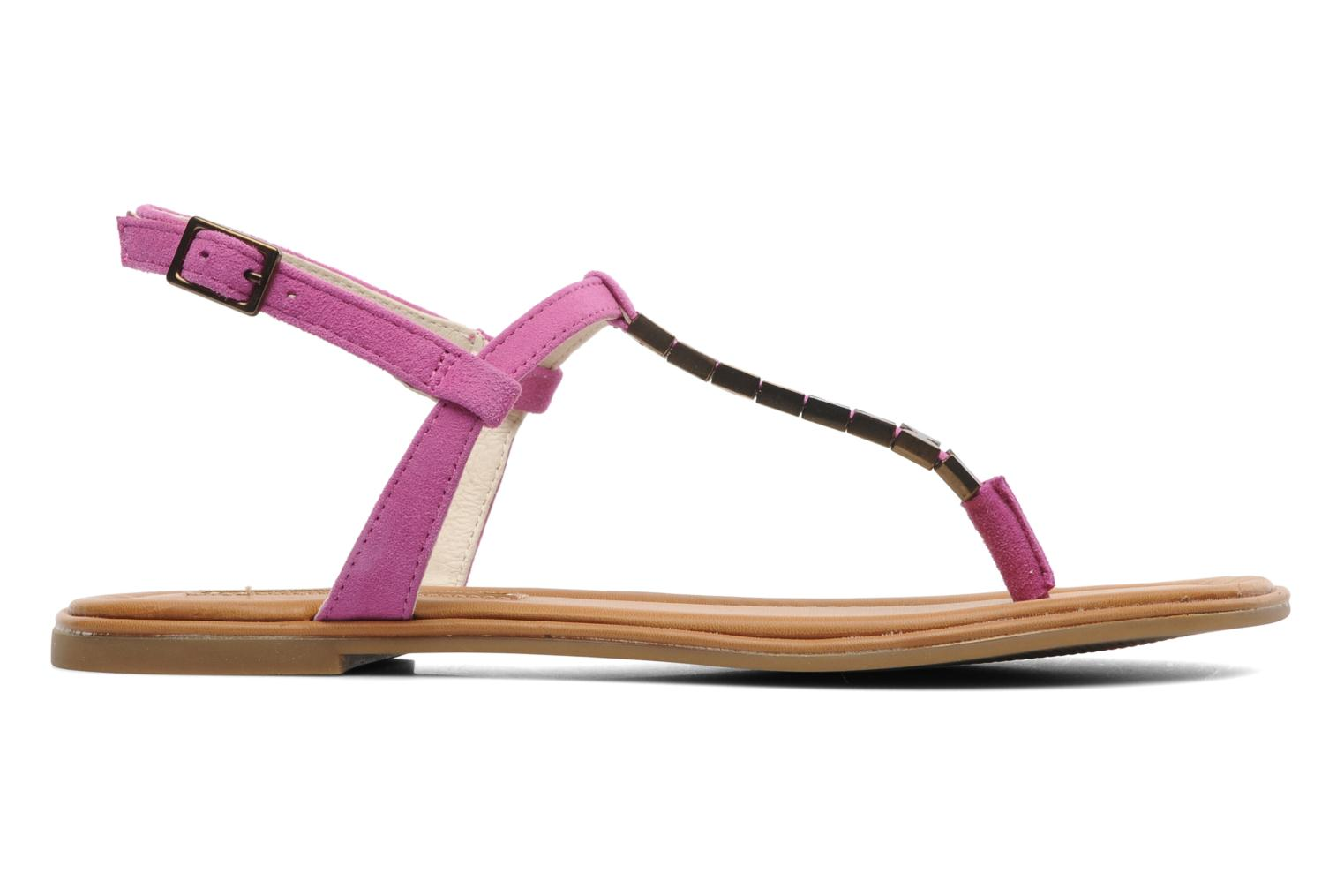 Sandals Buffalo Bawa Pink back view