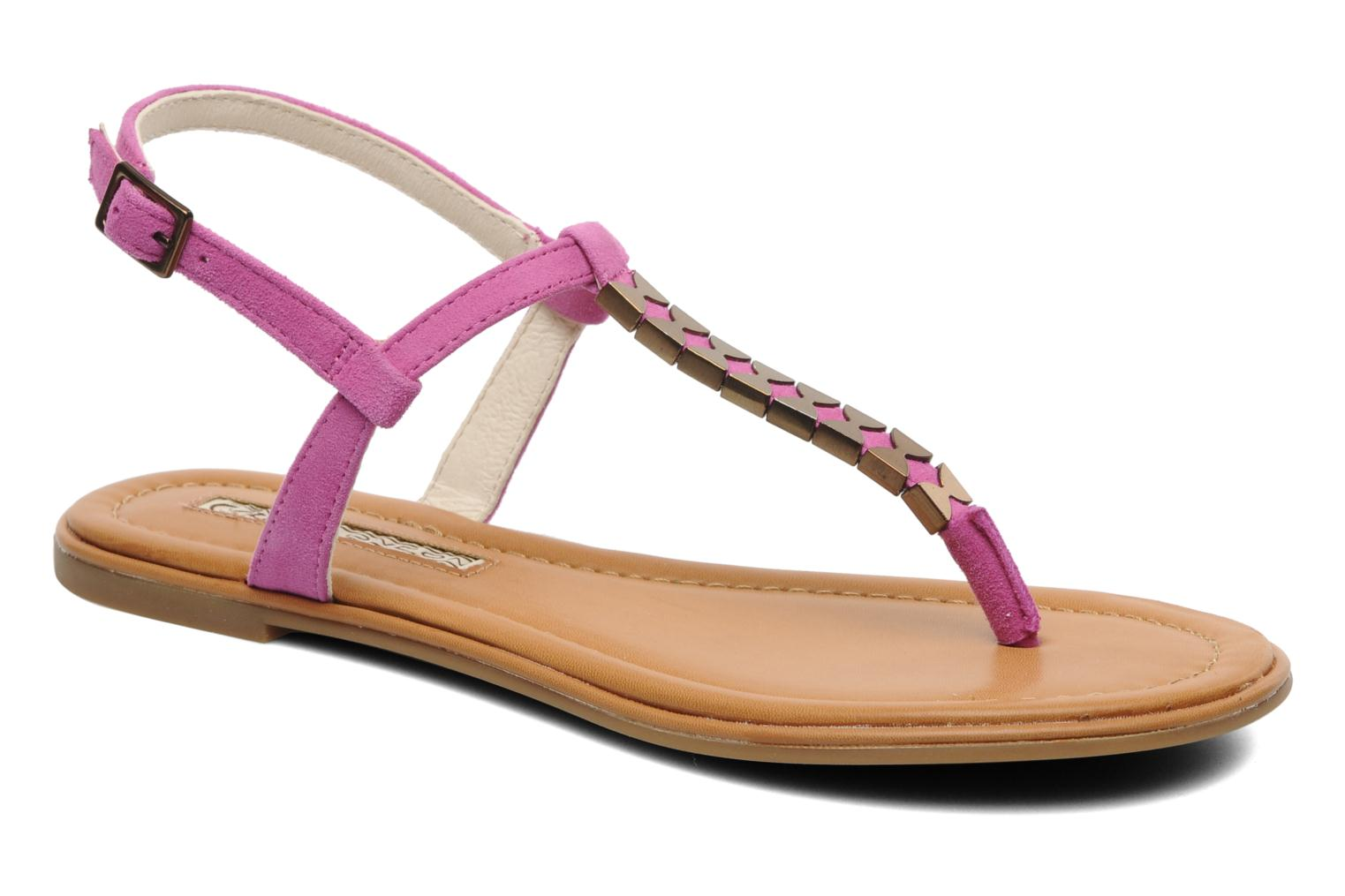 Sandals Buffalo Bawa Pink detailed view/ Pair view
