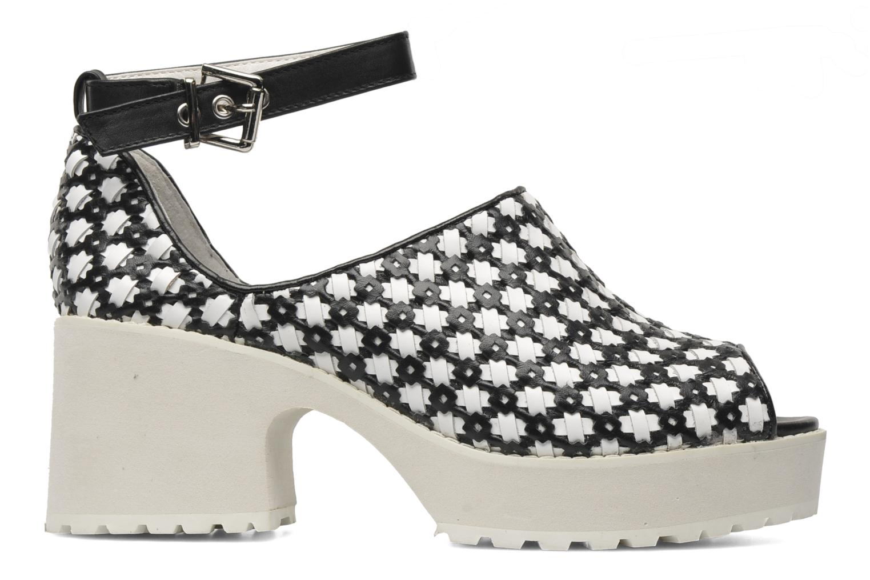 Sandales et nu-pieds Shellys London MISH Blanc vue derrière