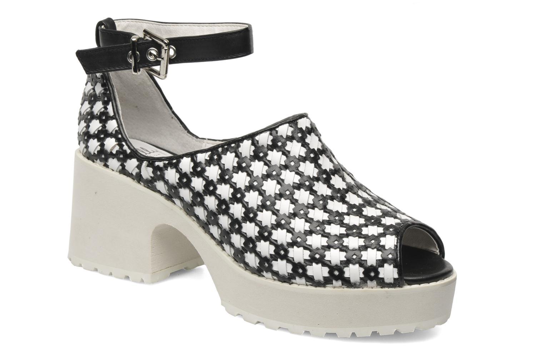 Sandales et nu-pieds Shellys London MISH Blanc vue détail/paire