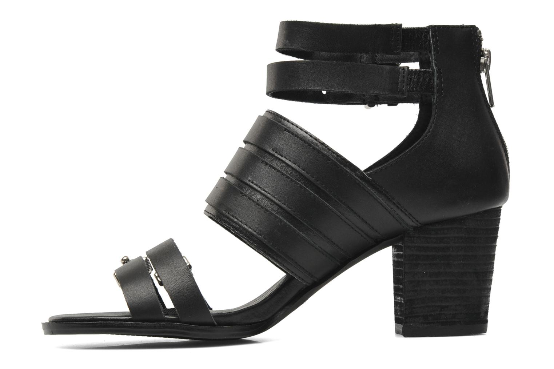 VALVORI Black leather