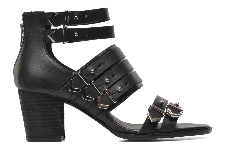Sandales et nu-pieds Shellys London VALVORI Noir vue derrière