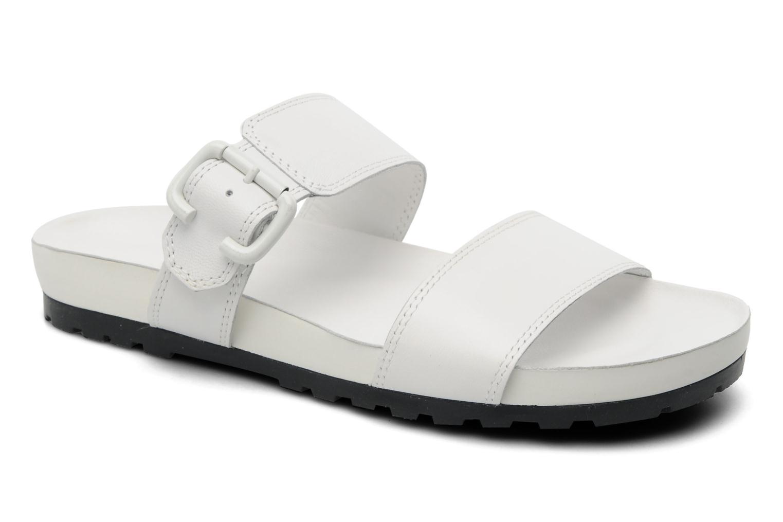 Mules et sabots Vagabond Shoemakers Erie 3731-101 Blanc vue détail/paire