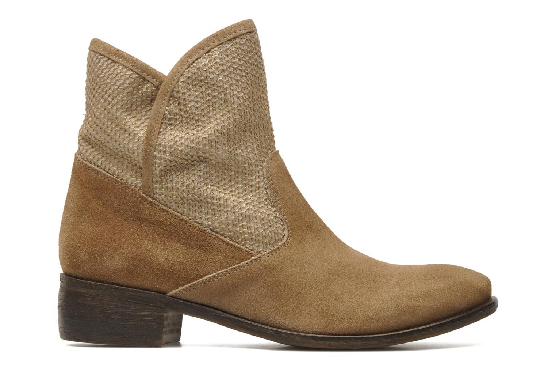 Bottines et boots Méliné Chanvre Beige vue derrière