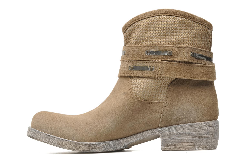 Boots en enkellaarsjes Méliné Jute Beige voorkant