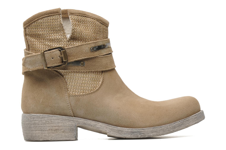 Boots en enkellaarsjes Méliné Jute Beige achterkant