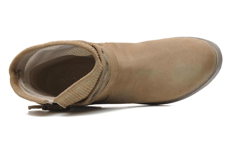 Bottines et boots Méliné Jute Beige vue gauche