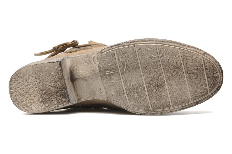 Bottines et boots Méliné Jute Beige vue haut