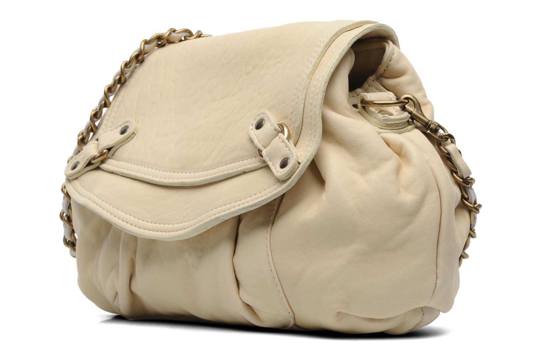 Handtaschen Abaco Dan Chaîne beige schuhe getragen