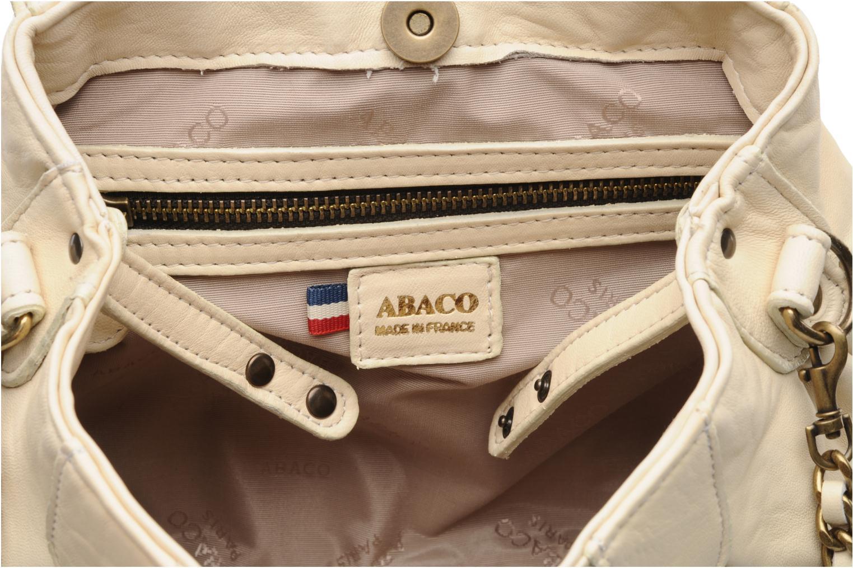 Handtaschen Abaco Dan Chaîne beige ansicht von hinten
