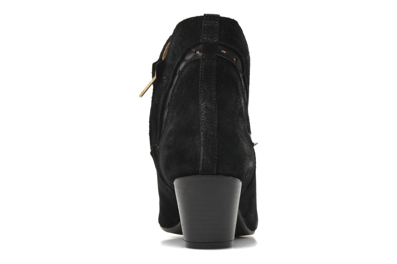 Bottines et boots H By Hudson Rodin Noir vue droite