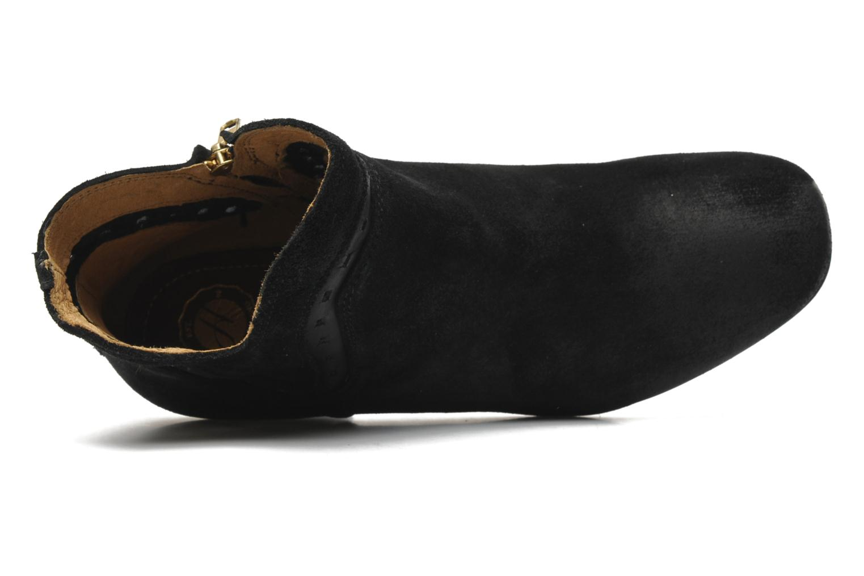 Botines  H by Hudson Rodin Negro vista lateral izquierda