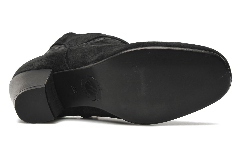 Bottines et boots H By Hudson Rodin Noir vue haut