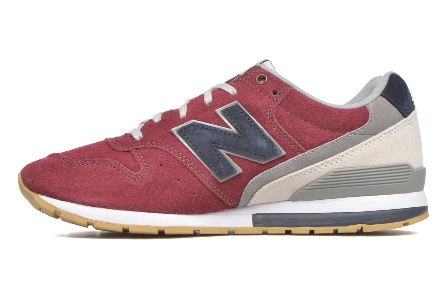 Trainers New Balance MRL996 Burgundy front view