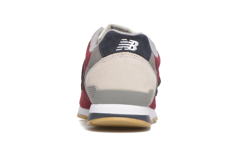 Sneakers New Balance MRL996 Bordeaux Se fra højre
