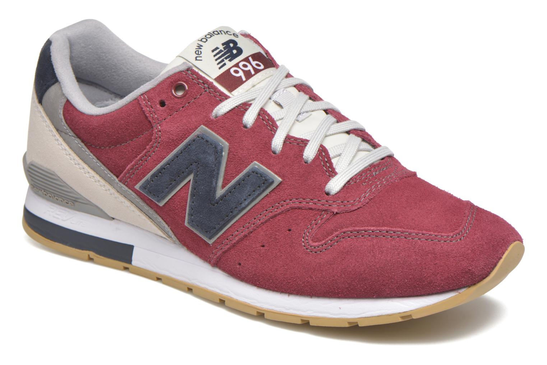 Sneakers New Balance MRL996 Bordeaux detaljeret billede af skoene