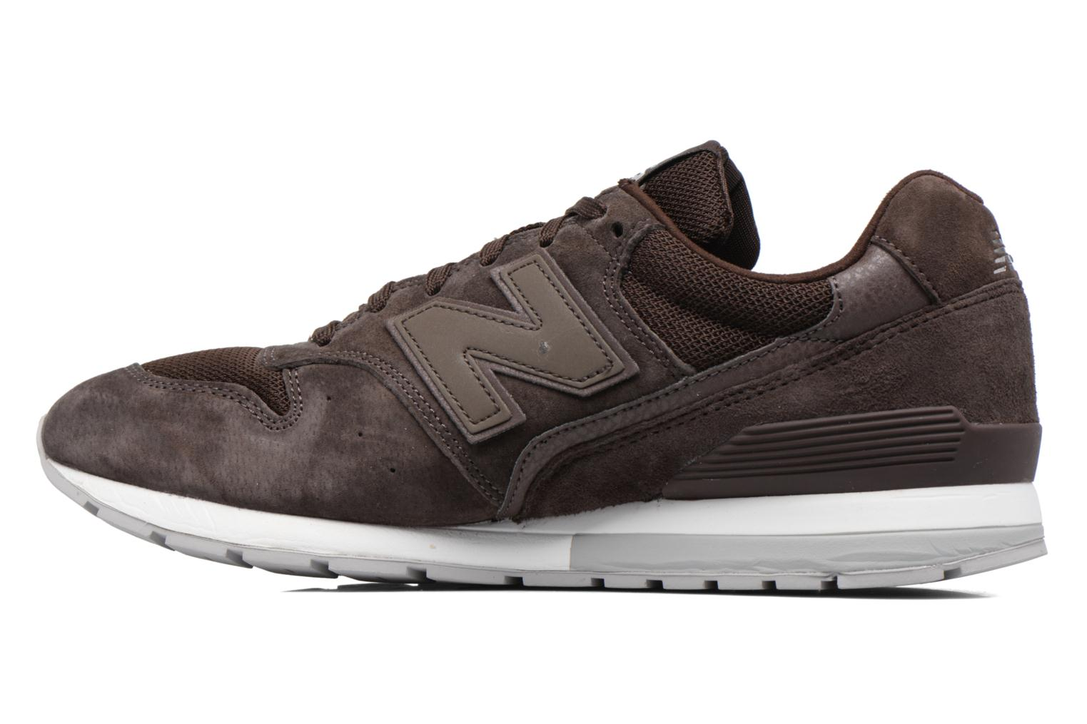 Sneakers New Balance MRL996 Marrone immagine frontale