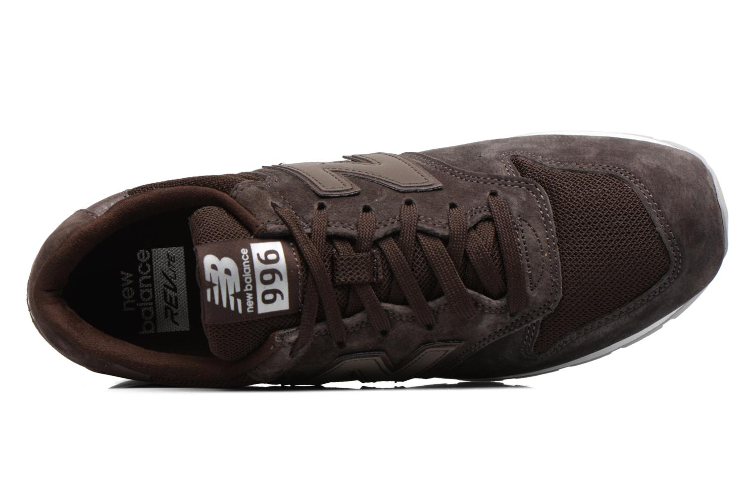 Trainers New Balance MRL996 Brown view from the left