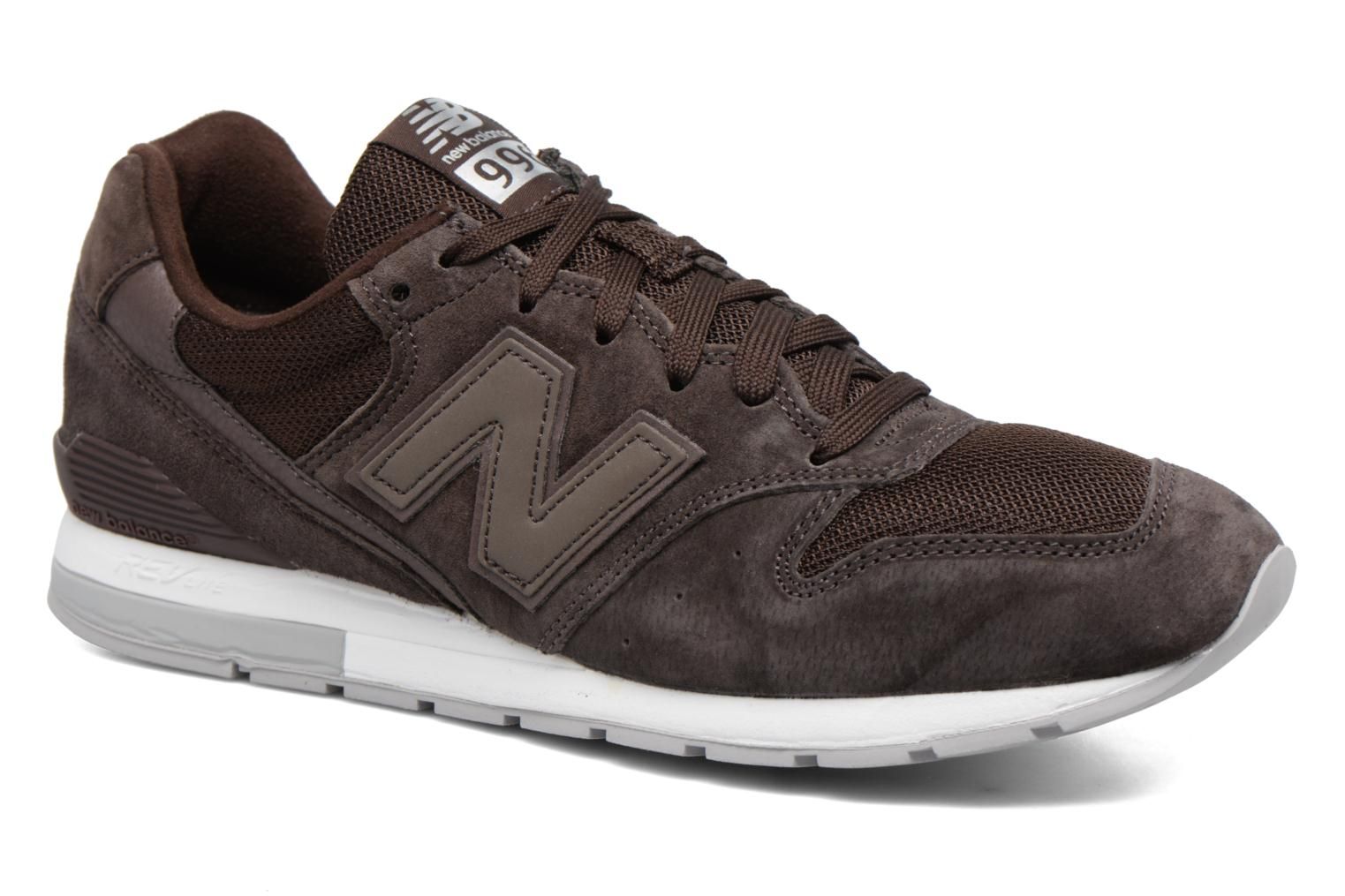 Trainers New Balance MRL996 Brown detailed view/ Pair view
