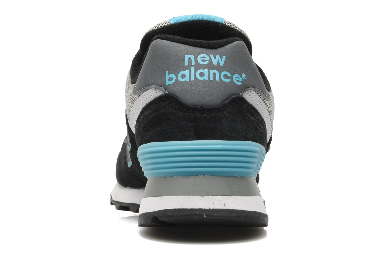 Sneakers New Balance WL574 Zwart rechts