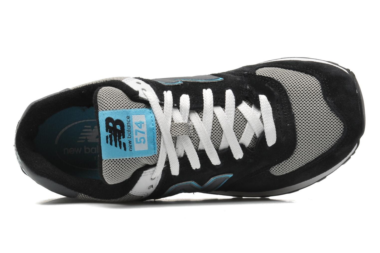 Sneakers New Balance WL574 Zwart links