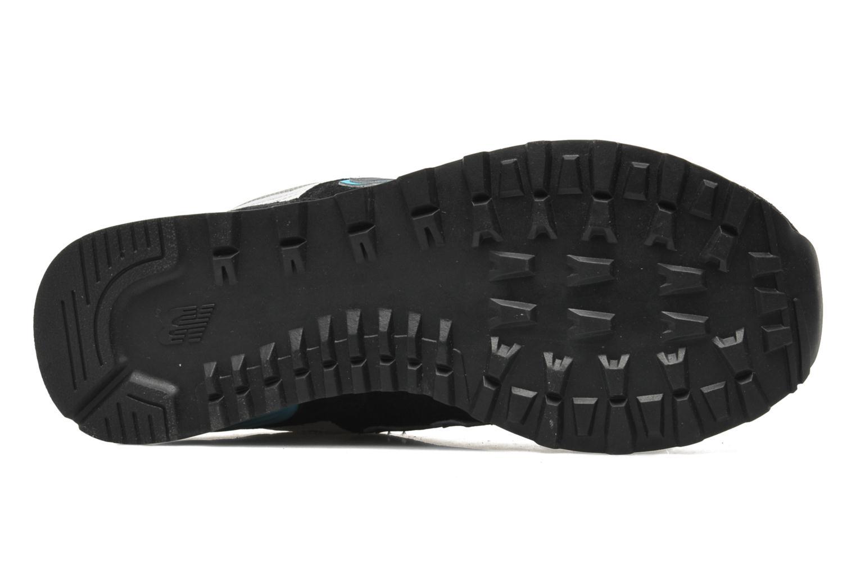 Sneakers New Balance WL574 Zwart boven