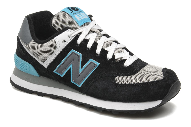 New Balance Wl574 Noir Bleu