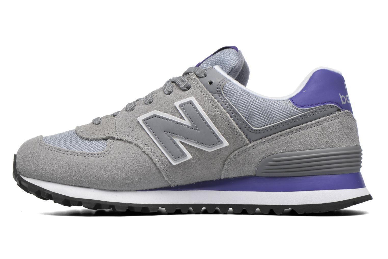 Sneaker New Balance WL574 grau ansicht von vorne