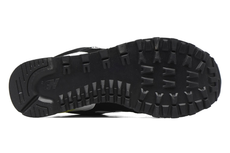 Sneaker New Balance WL574 schwarz ansicht von oben