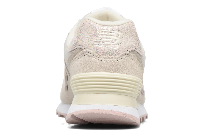 Sneakers New Balance WL574 Wit rechts