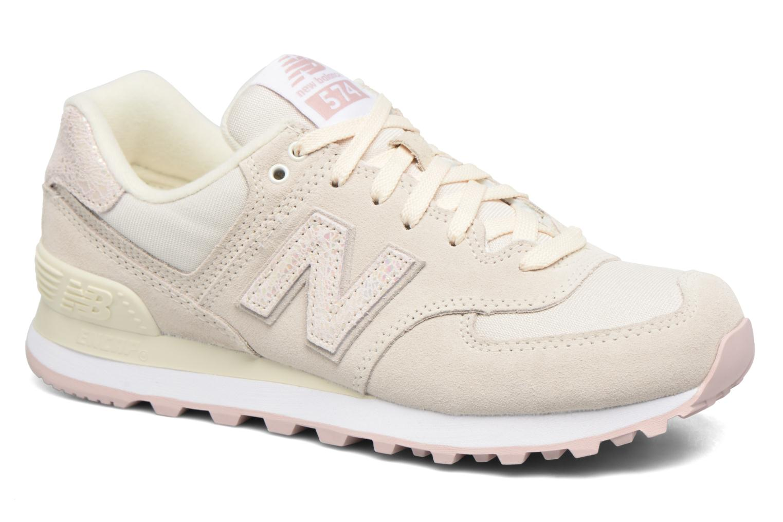 Zapatos promocionales New Balance WL574 (Blanco) - Deportivas   Gran descuento