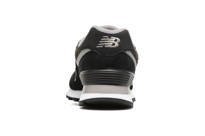 Sneaker New Balance WL574 grau ansicht von rechts