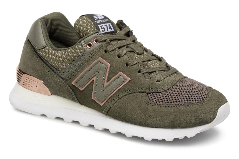 Grandes descuentos últimos zapatos New Balance WL574 (Verde) - Deportivas Descuento