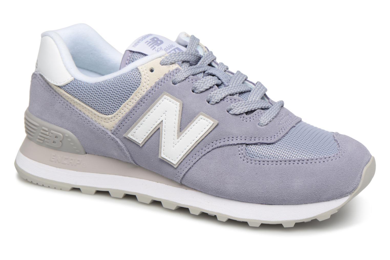 Grandes descuentos últimos zapatos New Balance WL574 (Gris) - Deportivas Descuento