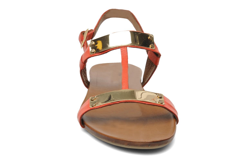 Sandales et nu-pieds Inuovo Sakine Rouge vue portées chaussures