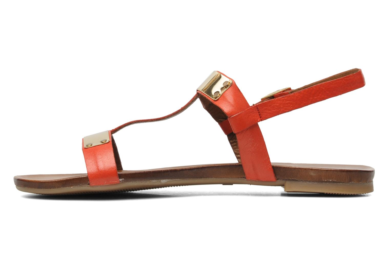Sandales et nu-pieds Inuovo Sakine Rouge vue face