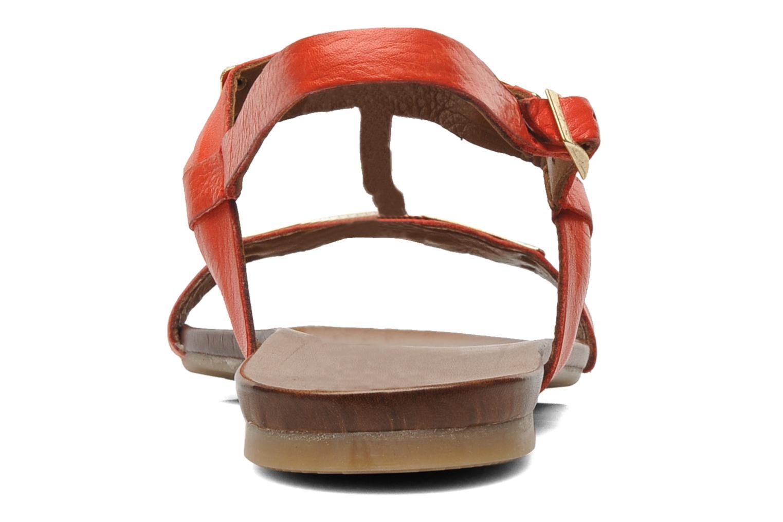 Sandales et nu-pieds Inuovo Sakine Rouge vue droite